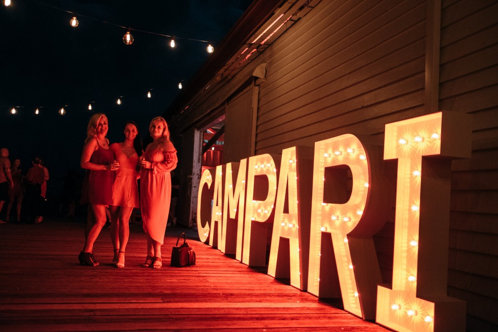 Eventcore - The Sugar Wharf Port Douglas - Campari - Corporate Event
